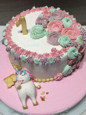 gâteau licorne gourmande