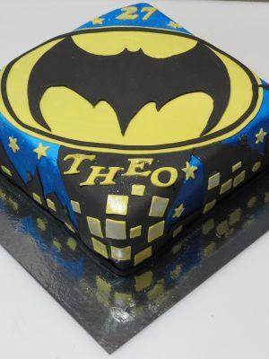 gâteau Batman
